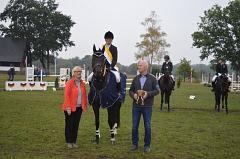 Bezirksmeisterin 2018 Isabell Köllmer RFV Landesbergen©Kreispferdesportverband Nienburg