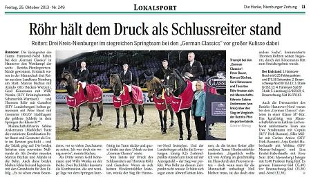 German Classics 2013 Springmannschaft (DieHarke)