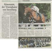 Kreismeisterschaften 2014 Dressur und Springen in Steyerberg
