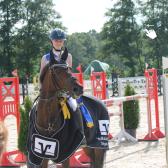 Larissa Siebert und die Wenke©Kreispferdesportverband Nienburg