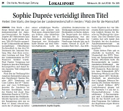 LM 2018 Sophie Duprée verteidigt ihren Titel
