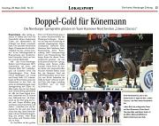 Löwen Classics 2015 Könemann Doppelgold