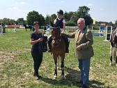 Sieger 2. Qualifikation Bücken Alina Luchtmann©Kreispferdesportverband Nienburg