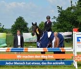 Siegerehruing Spr. Mittelweser 2017©Kreispferdesportverband Nienburg