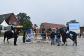 Siegerehrung Gesamtsieger VolksbankKreiscup 2019©Kreispferdesportverband Nienburg