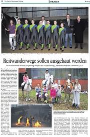 Steyerberg - Pferdefreundliche Gemeinde 2014