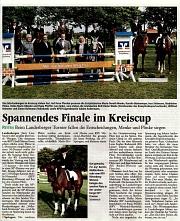 Volksbank-Kreis Cup Finale 2012 Landesbergen
